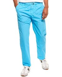 Woolrich Papery Popeline Pant - Blue
