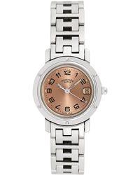 Hermès Hermes Clipper Watch, Circa 2000's - Metallic