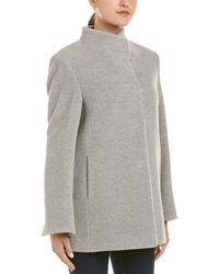 Cinzia Rocca - Icons Alpaca & Wool-blend Coat - Lyst