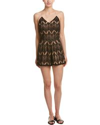 6 Shore Road By Pooja Colonial Lace Romper - Black
