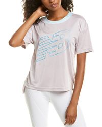 New Balance Archive Graphic Top - Grey