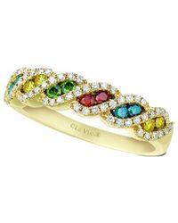 Le Vian ? Grand Sample Sale 14k Honey Gold? 0.57 Ct. Tw. Diamond Ring - Metallic