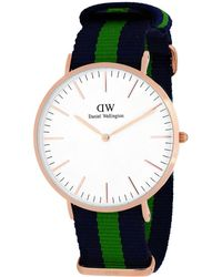Daniel Wellington Men's Classic Warwick Watch - Multicolour