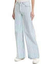 Off-White c/o Virgil Abloh Blue Cotton Pants
