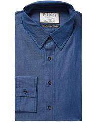 Thomas Pink - Caldicot Solid Super Slim Fit Dress Shirt - Lyst