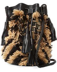 Antik Batik - Arteos Cotton Fringe Bucket Bag - Lyst