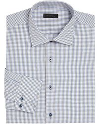 Saks Fifth Avenue - Collection Window Pane Checked Shirt - Lyst