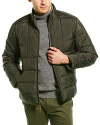 J.Crew Box Quilted Jacket - Green