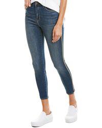 L'Agence Margot Neptune High-rise Skinny Leg - Blue