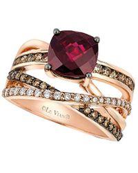 Le Vian - ® 14k Rose Gold 0.91 Ct. Tw. Diamond Ring - Lyst