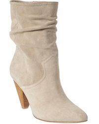 Joie Gabbissy Suede Boot - Gray