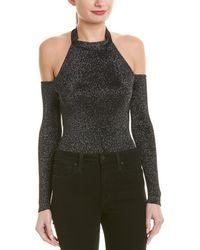 Cushnie et Ochs Cushnie Cold-shoulder Bodysuit - Black