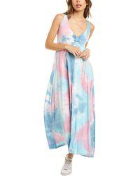 Melissa Masse Jersey Maxi Dress - Pink