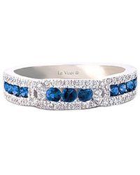 Le Vian ? 14k 0.67 Ct. Tw. Diamond & Sapphire Ring - Blue