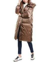 Add Down Coat - Brown