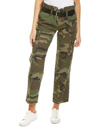 RTA Belted Cargo Pant - Green