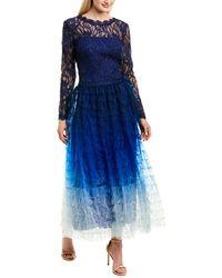 Tadashi Shoji Midi Dress - Blue