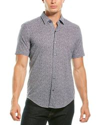 BOSS by HUGO BOSS Printed Shirt - Blue