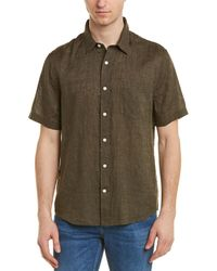 Vince Washed Buttondown Shirt - Green