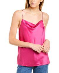 Cami NYC Axel Silk Tank - Pink