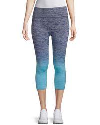 Electric Yoga Faded Capri Trousers - Blue
