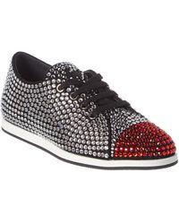 Giuseppe Zanotti Jeweled Sneaker - Black