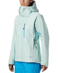 Mountain Hardwear Exposure/2 Gore-tex 3l Active Jacket - Blue