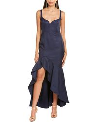 Fame & Partners The Bromley Gown - Blue