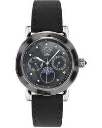 Gv2 Moon Valley Diamond Watch - Black