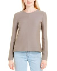 The Row - Leo Wool-blend Top - Lyst