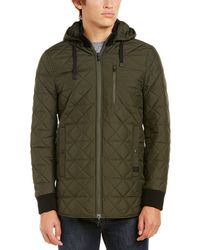 Victorinox Swiss Army Quilted Hooded Jacket - Green