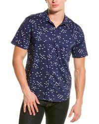 Michael Stars Slim Fit Shirt - Blue