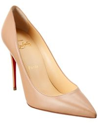 Christian Louboutin - Kate 100 Leather Pump - Lyst