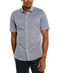 Zachary Prell Windju Woven Shirt - Blue