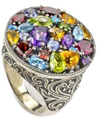 Samuel B. Silver 5.75 Ct. Tw. Gemstone Ring - Metallic