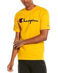 Champion Life Heritage T-shirt - Yellow