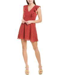 Greylin Ramona A-line Dress - Red