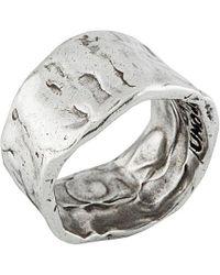 Uno De 50 - Unode50 Silver Ring - Lyst