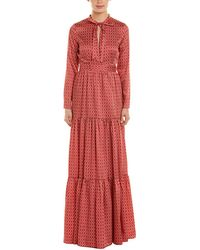 Alexis Marion Dress - Red