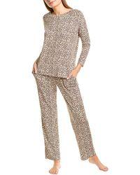 Flora Nikrooz Marie Pyjama Pant Set - Brown