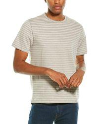 Vince Striped T-shirt - Gray