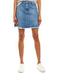 Baldwin Denim Jeans Agnes Skirt - Blue