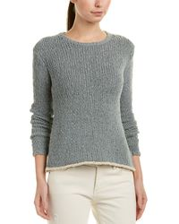 James Perse Linen-blend Sweater - Gray