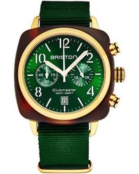 Briston Clubmaster Watch - Green