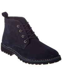 Kenneth Cole - New York Lug-xury Suede Boot - Lyst