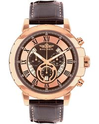 Balmer Men's Leather Watch - Multicolour