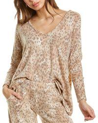 Melissa Masse Loungewear Top - Natural