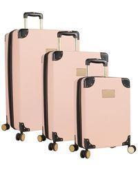 Vince Camuto Elizah 3pc Hardside Luggage Set - Pink