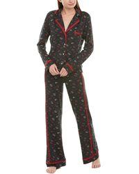 Cosabella 2pc Printed Pyjama Set - Multicolour