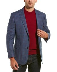 Brooks Brothers Explorer Regent Fit Wool-blend Sportscoat - Blue